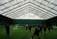 Transparent Windows Curved Tent Aluminum Frame Easy Dismantled For Outdoor Event