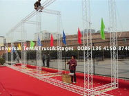 290x290mm Aluminum Frame Concert Stage Truss Structure Customized Loading
