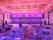 Wedding Stage Lighting Truss , Custom Aluminium Truss System Heavy Loading