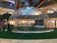 Luxury Waterproof Transparent Geodesic Dome Tents For Outdoor event / Show / Ceremony / Exhibitions