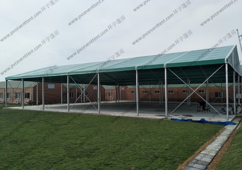 Green Roof Cover Aluminum Canopy Tent Garden Soft PVC Walls For Outdoor Sport Event