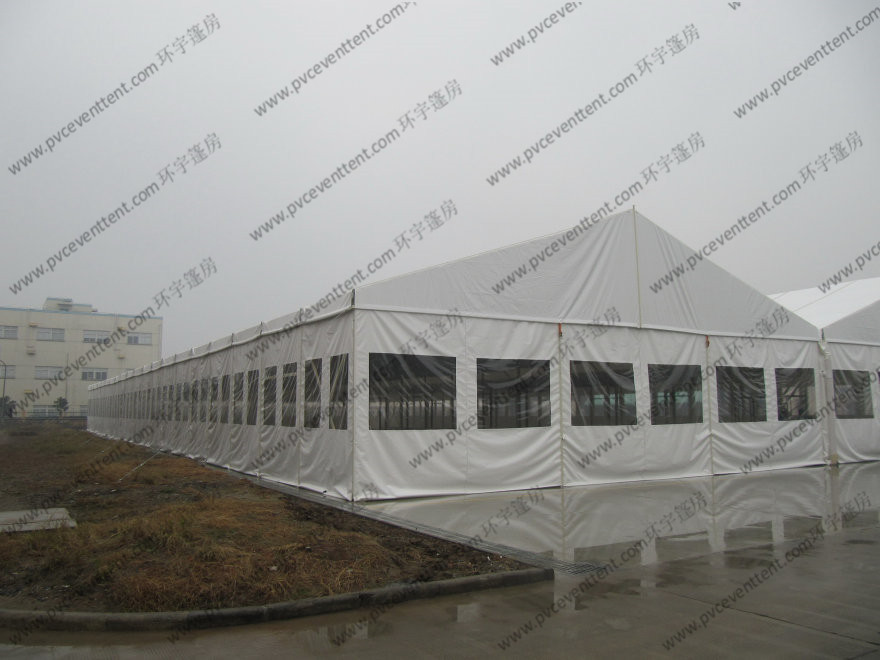 Outdoor Fire Proof Clear Roof Marquee Movable Heavy Duty For Entertainment Space