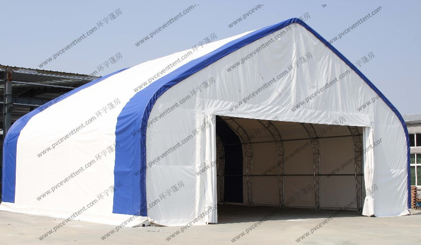 Customized Aircraft Hangar Tent , Outdoor Airplane Tent For Temporary Army