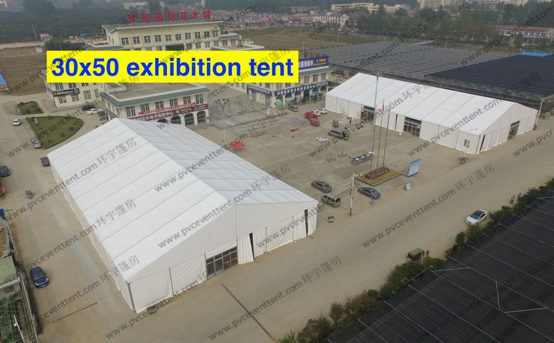 Inflatable Warehouse Tent aluminium heavy snow loading storage tent