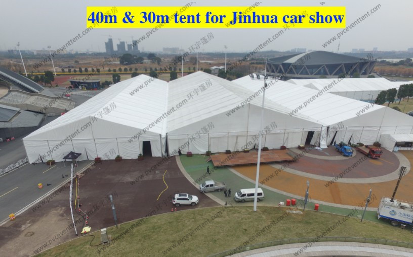 High Reinforced Aluminum Custom Trade Show Tents 30m / 40m For Outdoor Trade Show
