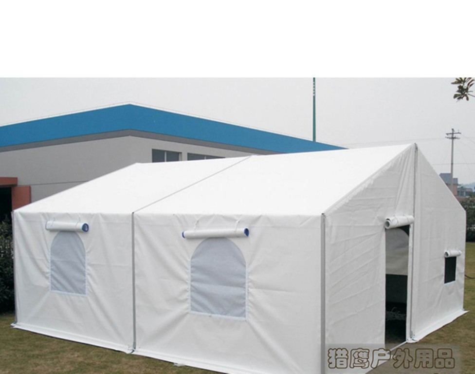 6m Width White Military Army Tent Waterproof Pvc Cover With Screen Windows