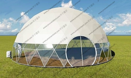 Luxury Geodesic Dome Tent Geodesic Camping Dome For Projecter Or Projection Vedios